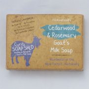 Cedarwood and Rosemary Natural Goats Milk Soap