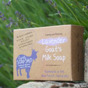 Handmade Goats Milk Soap Lavender by Cyril's Soap Shed