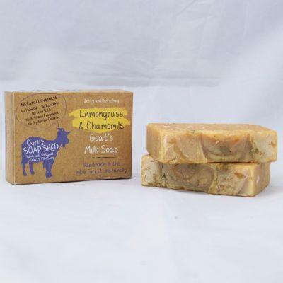 Lemongrass & Chamomile Handmade Goats Milk Soap