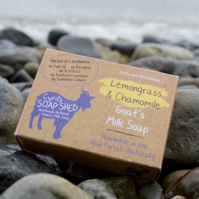Lemongrass & Chamomile Goats Milk Soap