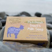 Patchouli goats milk soap