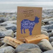 Tea Tree & Eucalyptus Goats Milk Soap handmade in the New Forest