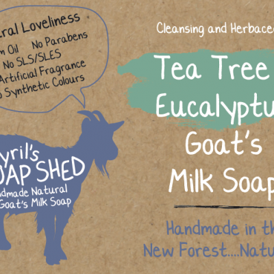 Tea Tree & Eucalyptus Goats Milk Soap