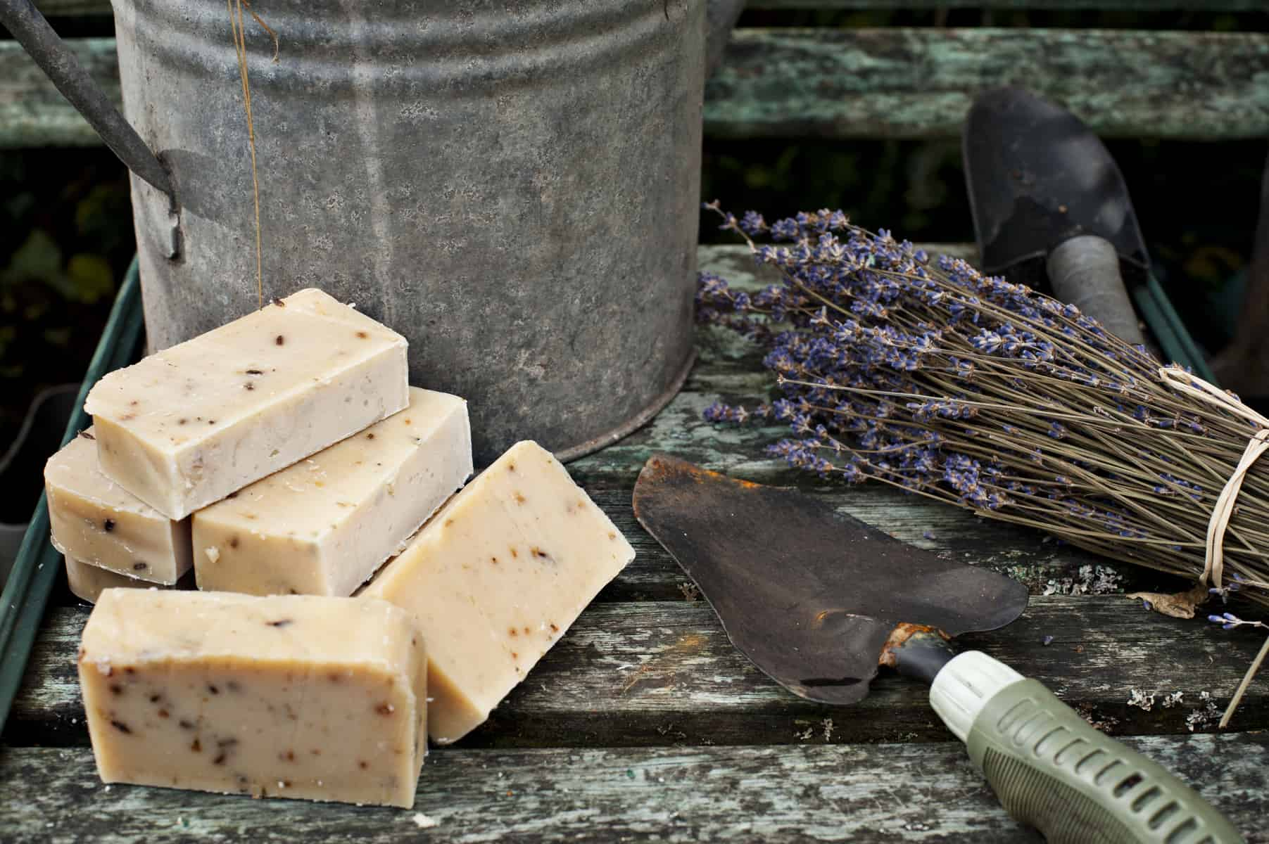 Gardeners Goats Milk Soap Handmade by Cyril's Soap Shed