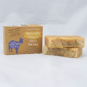 honey oats and goats milk soap