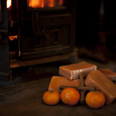 Orange & Cinnamon Goats Milk Soap