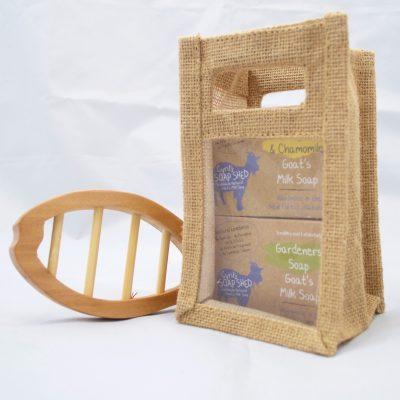 Goats Milk Soap Gift Bag