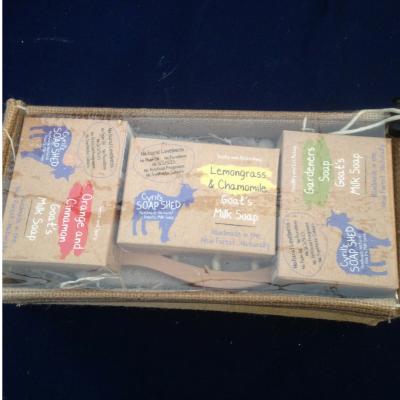 Goats Milk soap large gift box
