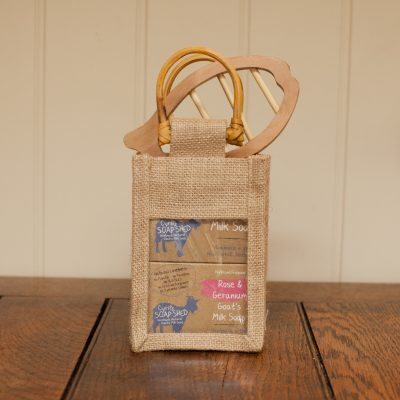 Goats Milk Soap Gift Bag