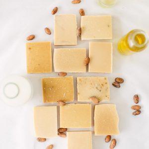 Fragranced Goats Milk Soap Naked Bundles