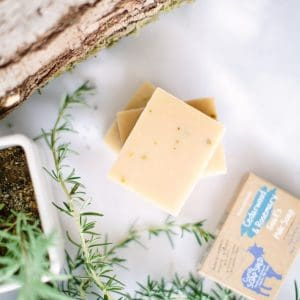 Cedarwood & Rosemary Goats Milk Soap