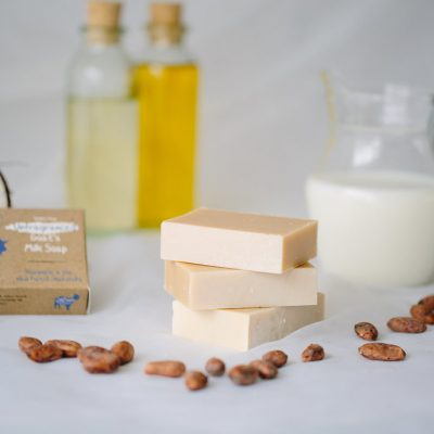 Natural Unfragranced Goats Milk Soap