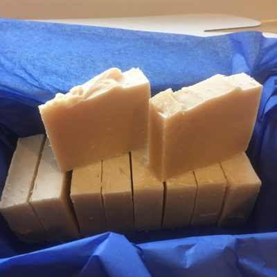 Goats milk soap from Cyril's Soap Shed - Palm oil free