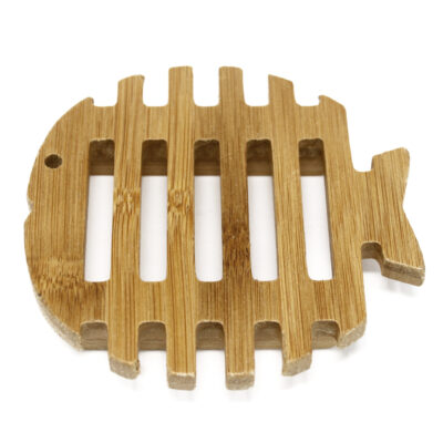 Wooden Soap Fish Dish
