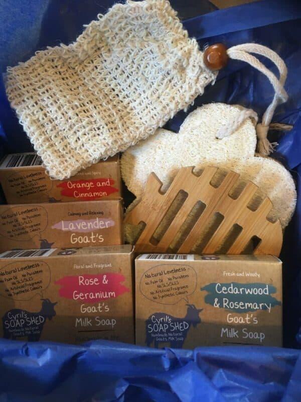 Large soap gift set
