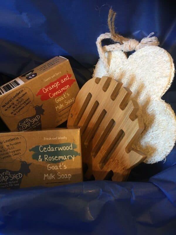 cyrils soap shed gift box