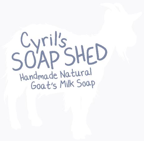 Cyrils soaps shed handmade natural goat's milk soap