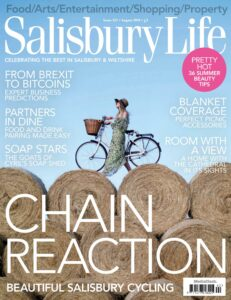 Cyrils soap shed featured in Salisbury life issue 257